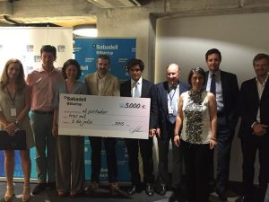 Sadako wons the Venture Network Competition: 3.000€ plus a IE Business School Course