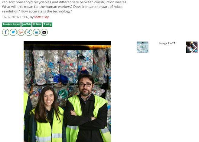 Sadako's Wall-B featured by Waste Management World Magazine