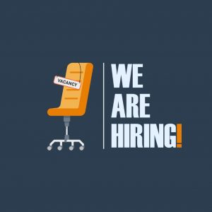 We're Hiring – We Want You !